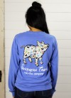 L/S Once Upon A Pig Tee in Blue by Southern Trend