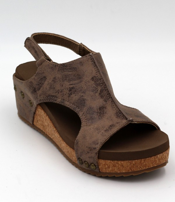 Volta in Brown Distressed by Corkys