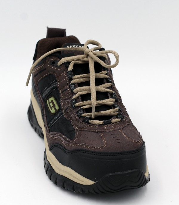 Soft Stride Grinnel in Brown/Black by Skechers