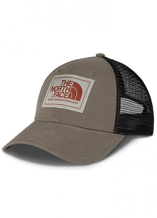 a1ee9bc83 Mudder Trucker Hat in Falcon Brown/Granite Bluff Tan/Brandy Brown by The  North Face