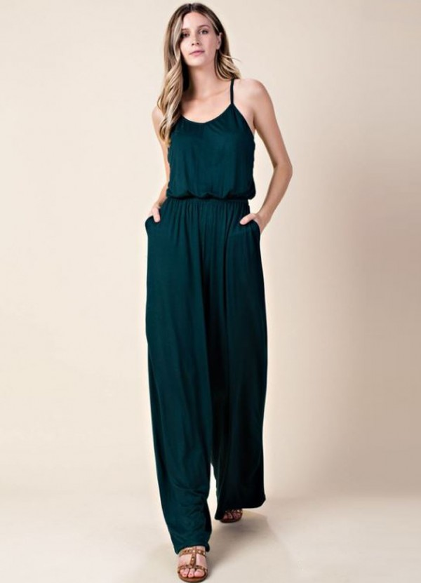 60% cheap hot-selling professional compare price Sleeveless Wide Leg Jumper