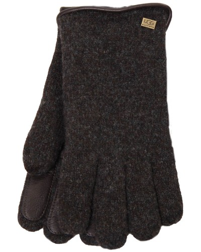Mens Glove w/Piping & Palm Patch by UGG
