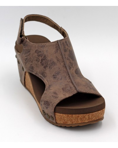 Carley in Brown Distressed by Corkys
