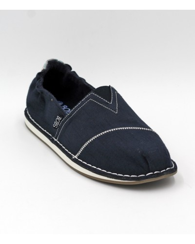 Bobs Chill Waterfront in Navy by Skechers