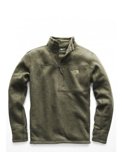 Men's Gordon Lyons 1/4 Zip in Four Leaf Clover Heather by The North Face