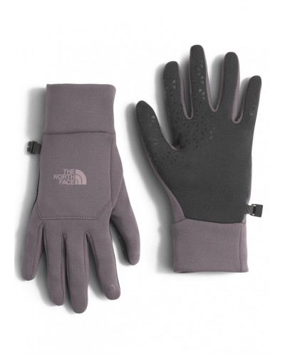W Etip Glove Rabbit Grey by The North Face