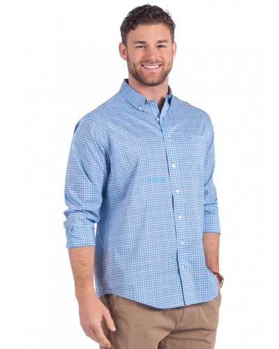 Broad Street Check in Boardwalk by Southern Shirt