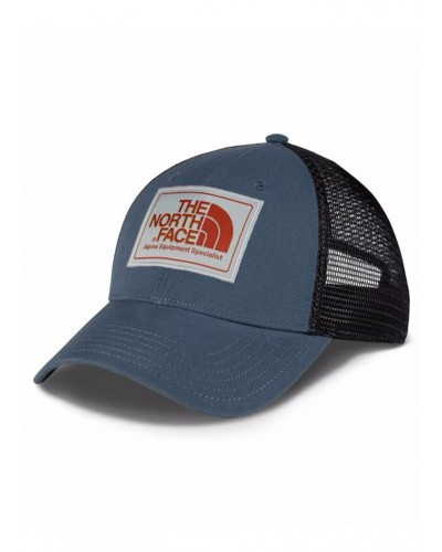 Mudder Trucker Hat in Conquer Blue/High Rise Grey/Ketchup Red by The North Face