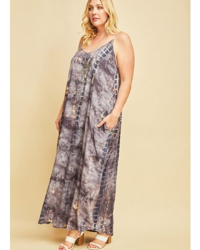 354ab732bfe Plus Cami Maxi Dress in Teal