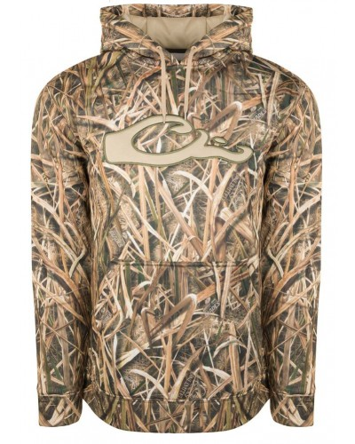 Performance Logo Hoodie in Mossy Oak Blades by Drake