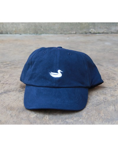 Hat in Navy with White Duck by Southern Marsh