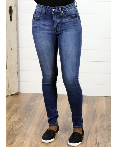 Jean in Medium Wash by KanCan