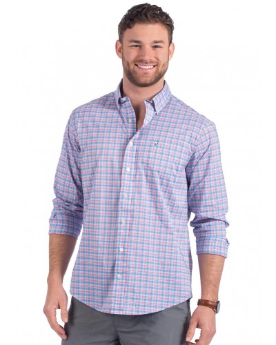 Low Country Plaid in Sweet Water by Southern Shirt