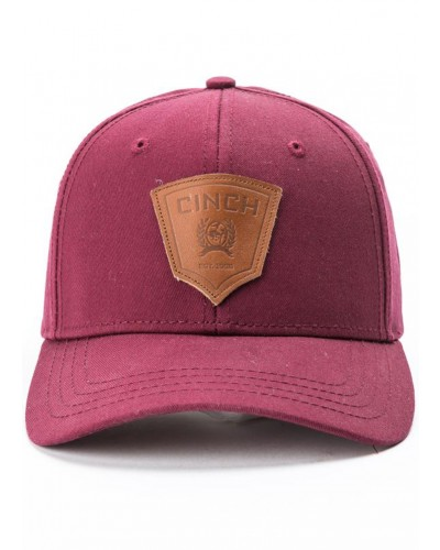 Adjustable Cap in Burgundy by Cinch