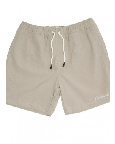 Cabana Short in Light Khaki by Fayettechill