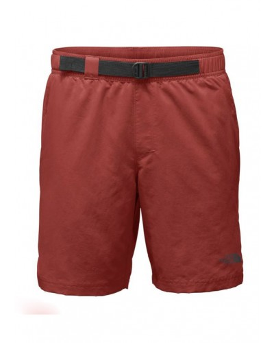 Men's Long Class V Belted Trunk in Bossa Nova Red by The North Face