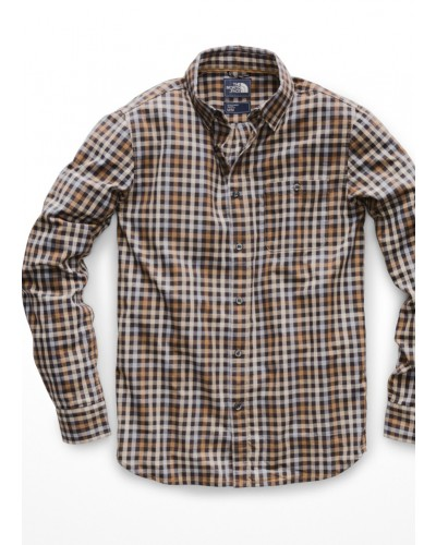 Men's L/S Hayden 2.0 Shirt in Caldea Red by The North Face