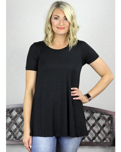 Top in Black by PSY Apparel