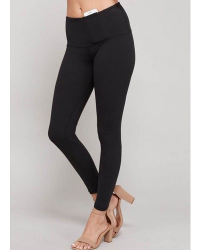 Full Length Leggings in Black by Rae Mode