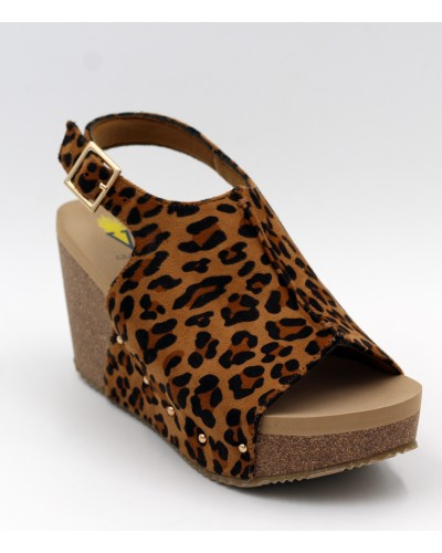 Division in Tan/Leopard by Volatile