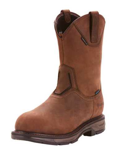 Workhog in Oily Distressed Brown by Ariat