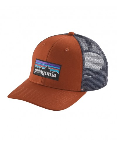 P-6 Logo Trucker Hat in Copper Ore by Patagonia