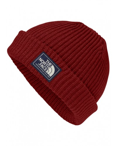 Salty Dog Beanie in Barolo Red by The North Face