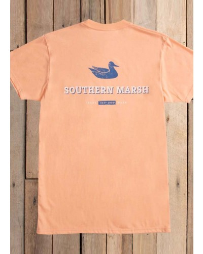 Trademark Duck in Peach by Southern Marsh