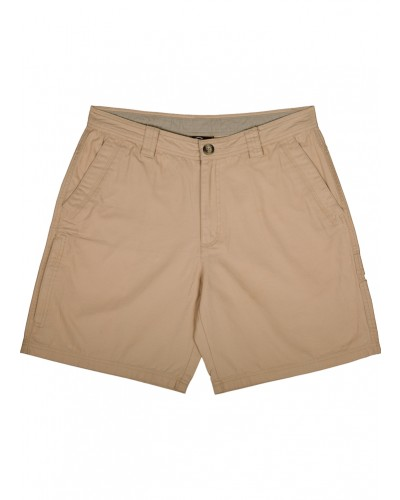 Washed Cotton Canvas Short in Stone by Drake
