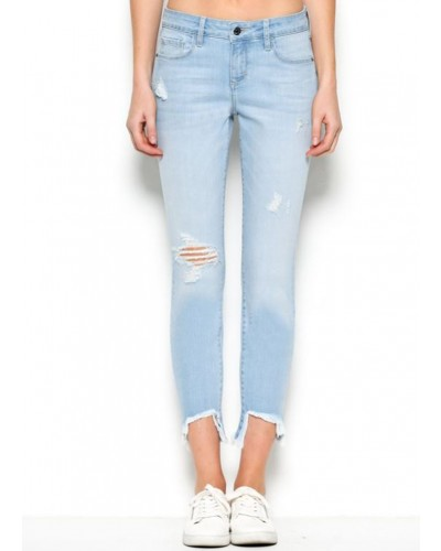 Mid Rise Skinny in Light Blue by Hidden Jeans