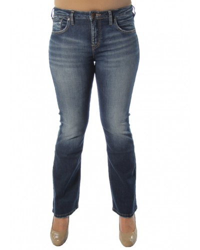 Izzy Bootcut in Indigo by Silver Jeans