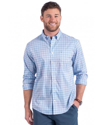Low Country Plaid in Neptune by Southern Shirt