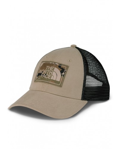 Mudder Trucker Hat in Dune Beige/Burnt Olive/Green Camo by The North Face