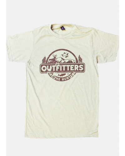 S/S Outfitters Tee in Oat by Wholesale Hobby Life