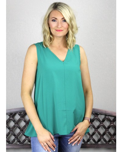 Top in Agave Green by PSY Apparel