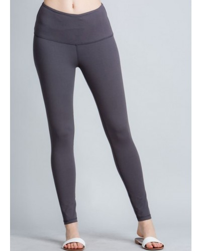Full Length Leggings in Charcoal by Rae Mode