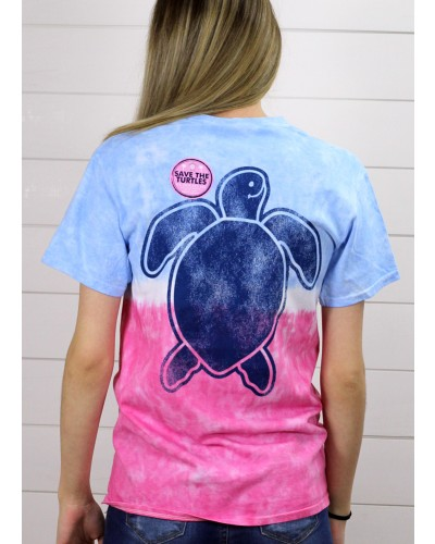 Save Washed Tee in Icepop by Simply Southern