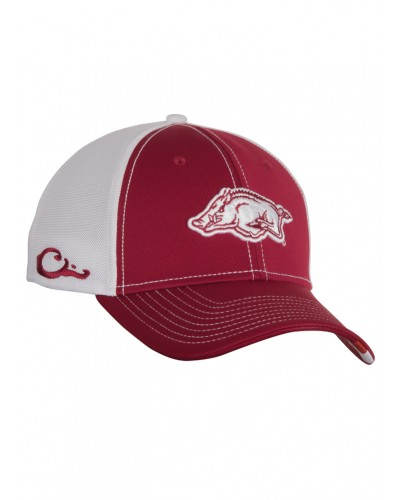Arkansas Stretch Fit Cap in Cardinal by Drake