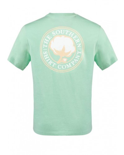 Men's S/S Sig Logo Tee in Ocean Wave by Southern Shirt