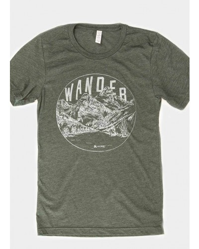 S/S Wander Tee in Olive by Wholesale Hobby Life